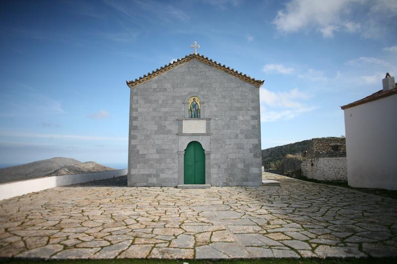 monastery in hydra